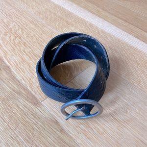 American Eagle Black Leather Belt